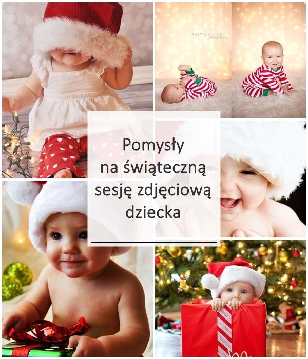 Dziś mamy Mikołajki, zatem do Świąt Bożego Narodzenia zostało już bardzo niewiele. Zbliżający się okres sprzyja fotografowaniu i uwiecznianiu magicznych chwil. To także doskonała okazja do zrobienia sesji zdjęciowej Twojemu dziecku. Jednak wcale nie musi być kosztowna i odbyć się w profesjonalnym studiu fotograficznym. W domowym zaciszu mogą wyjść równie piękne zdjęcia, bez stresu i sztuczności. Tylko, że nieraz może brakować pomysłów na takie zdjęcia i wtedy Internet przychodzi nam z pomocą i całą masą pomysłów. W związku z tym, że ja sama przymierzam się do takiej sesji, postanowiłam zebrać nieco świątecznych inspiracji, pogrupować i podzielić się z Wami.