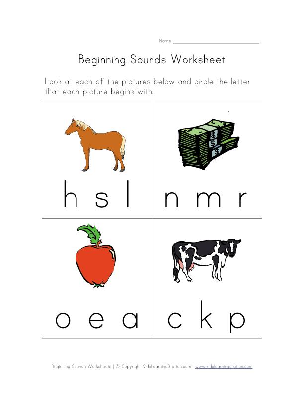 phonics teachernick beginning sounds phonics sounds rhyming words work sheets. Black Bedroom Furniture Sets. Home Design Ideas