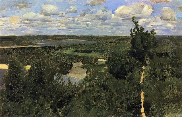Исаак Ильич Левитан - Васильсурск. 1887