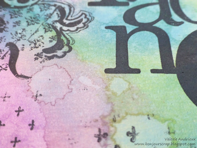effect using distress oxide ink by Tim Holtz and Ranger