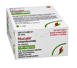 FDA pareri pozitive Nucala tratament granulomatoza eozinofilă cu poliangeită