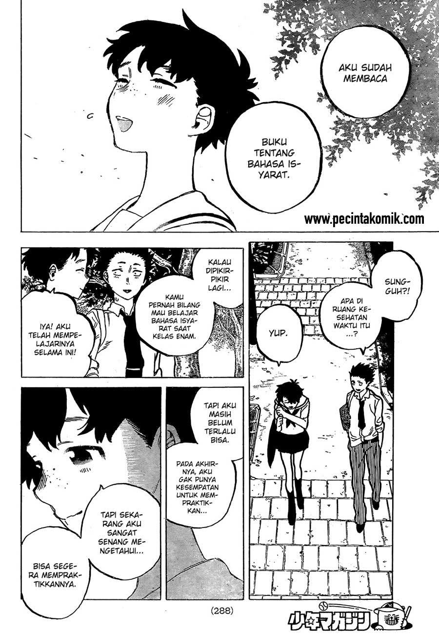 Koe no Katachi Chapter 16-17