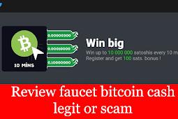 situs faucet bitcoin cash