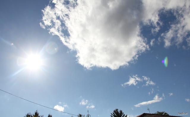 Après la tempête: ciel d'après-midi