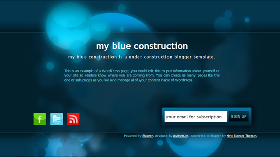 My Blue Construction