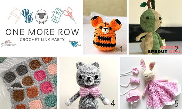 One More Row - Free Crochet Link Party #29