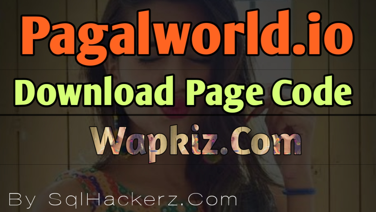 Wapkiz Website Code || Pagalworld io Download Page Full Code