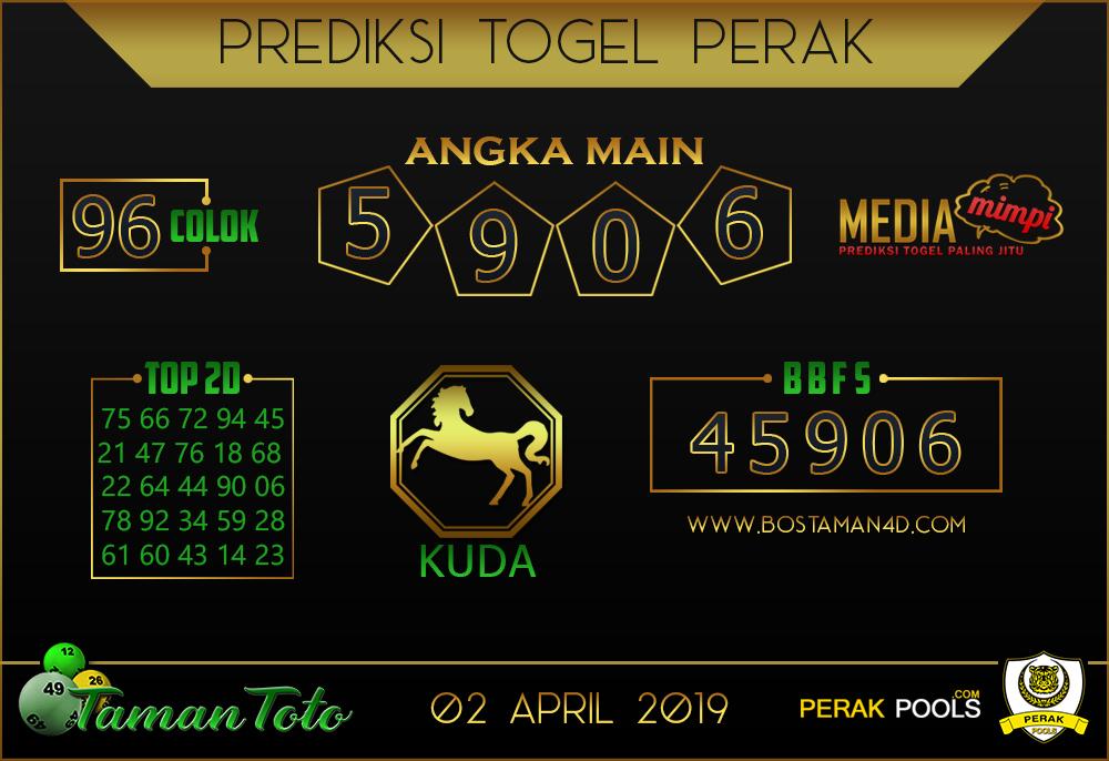 Prediksi Togel PERAK TAMAN TOTO 02 APRIL 2019