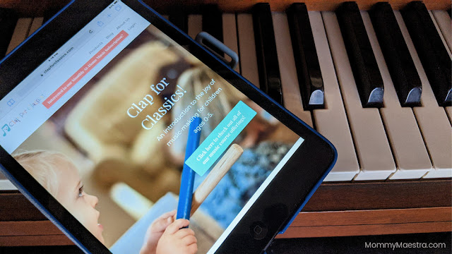 Clap for Classics! online preschool music class