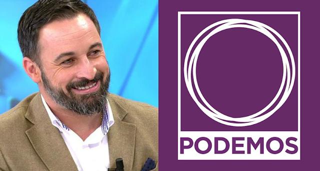 """Contundente respuesta de Podemos a Santiago Abascal :""""No cuela"""""""