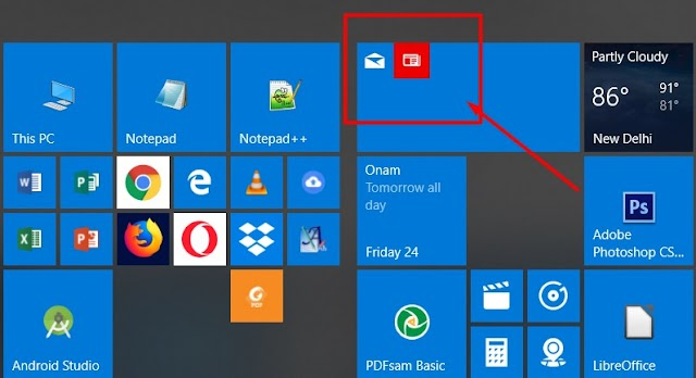 How to group or un-group icons on Windows 10 Start ?