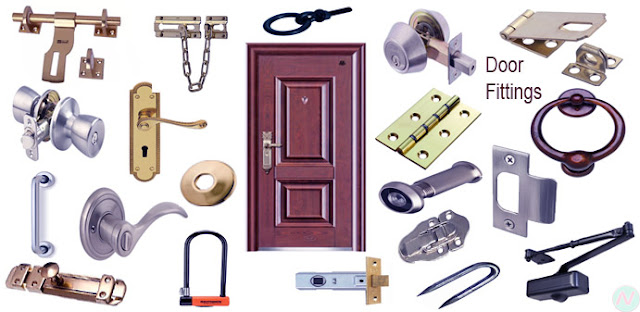 Learn Door fittings Name with Necessary Vocabulary Meaning