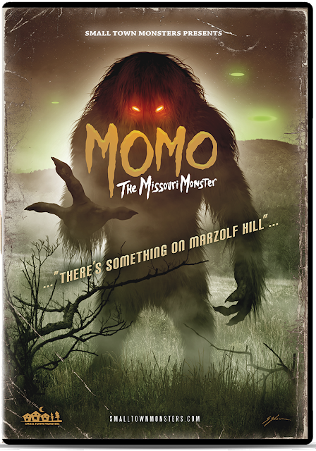 Momo The Missouri Monster Cover Art