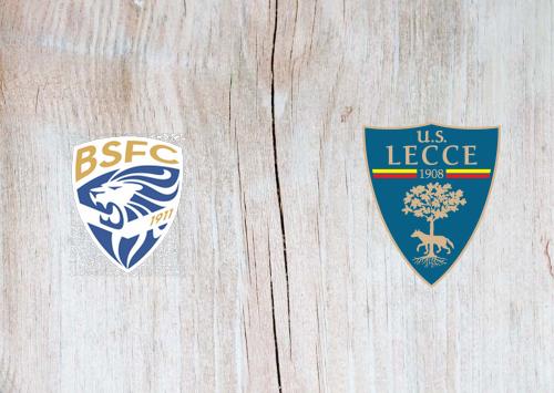 Brescia vs Lecce -Highlights 14 December 2019