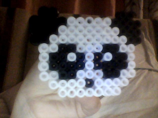 Hama beads  Oso Panda