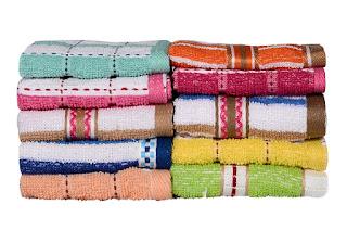 Deals on Casa Copenhagen-Basics Set Of 10 Pcs Towels