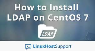 วิธีติดตั้ง LDAP SERVER บน Centos 7 แบบ Step by Step