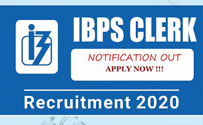 IBPS Clerk 2020 Recruitment