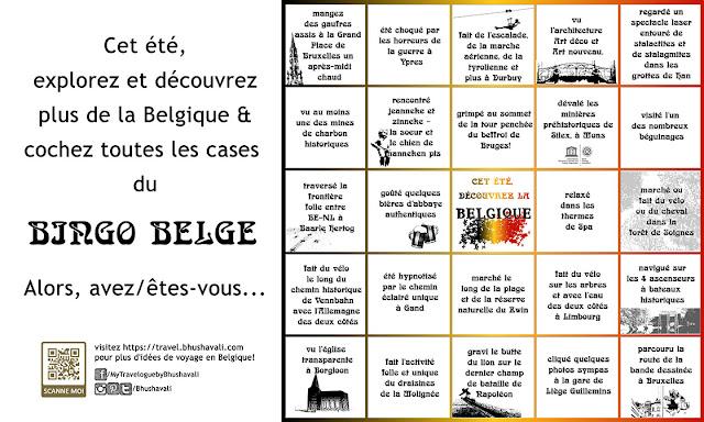 Lieux à voir en Belgique - Bingo Belge (FR)