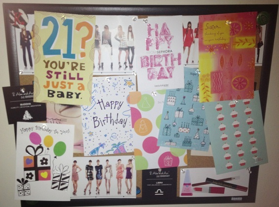 birthday cards, 21