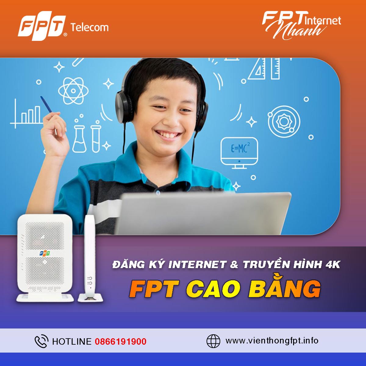 Tổng đài Đăng ký Internet FPT tại Cao Bằng