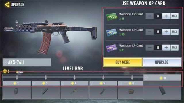 Beli dan Upgrade Senjata