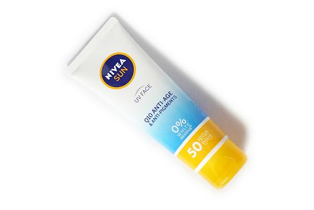 Nivea Sun UV Face Q10 Anti-Age and Anti-Pigments Cream