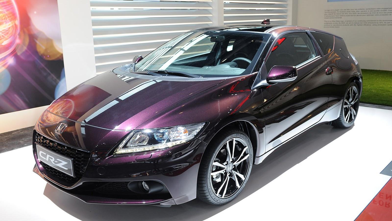 2013 Honda CR Z At Paris Motor Show