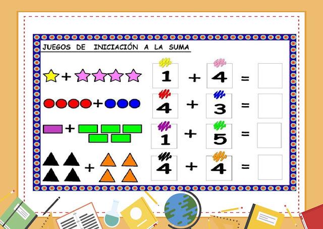 aprender,matematicas,preescolar,primaria