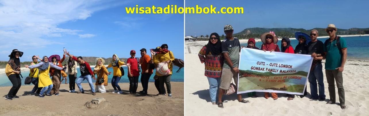 Mengunjungi Pantai Tanjung Aan