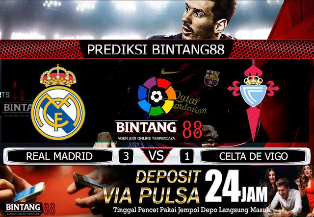 PREDIKSI BOLA REAL MADRID VS CELTA DE VIGO 17 FEBRUARI 2020