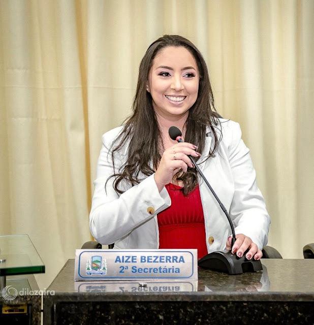 Política Local: Vereadora Aize Bezerra diz que próxima terça, vai  esclarecer muita coisa a partir das 11H30 na 89 FM - Blog do Montoril