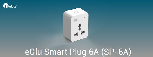eGlu Smart Plug 6Amps