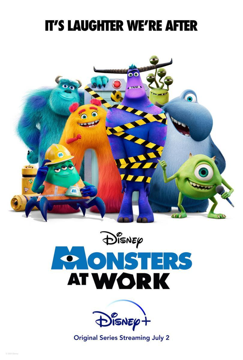 Monsters at Work 1×5 Dual 1080p