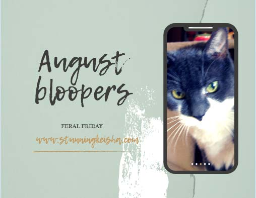 August Bloopers: Shaky Not Stirred