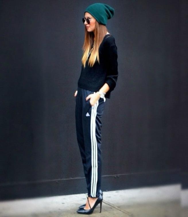 track-pants-heels