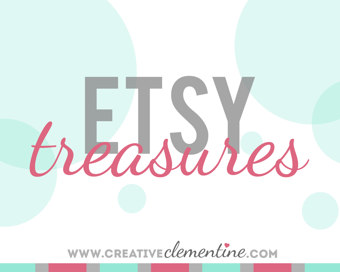Etsy Treasury via Creative Clementine