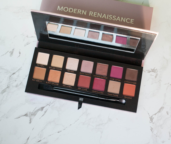 Beauty: ABH Modern Renaissance palette review and five looks