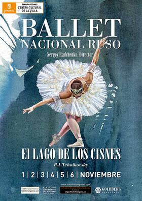 El lago de los cisnes del Ballet Nacional Ruso en el Fernán Gómez ¡Solo 6 días!