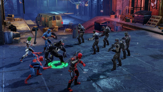 MARVEL Strike Force mobile game version