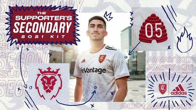 Real Salt Lake 2021 Away Kit