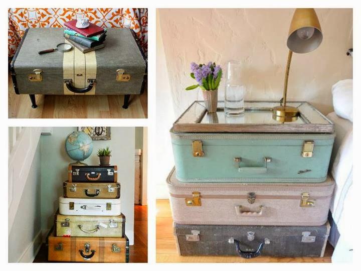 Rogiamstore come riciclare le vecchie valigie in modo for Fai da te casa riciclo