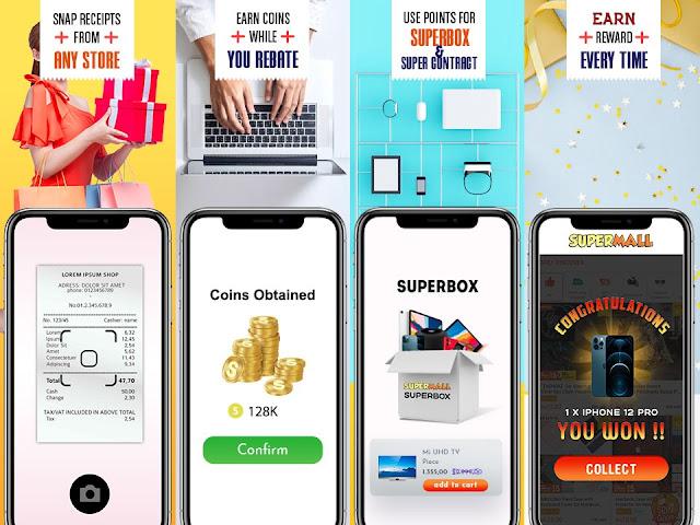 supermall cashbacks reward and rebates