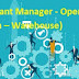 Assistant Manager - Operations (Ecom – Warehouse) UAE