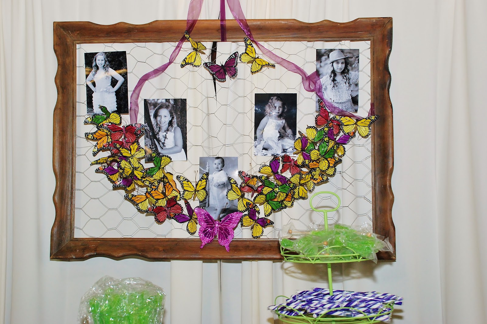 Set The Mood For Everything: Setting The Mood: Rustic Purple Garden Bat Mitzvah