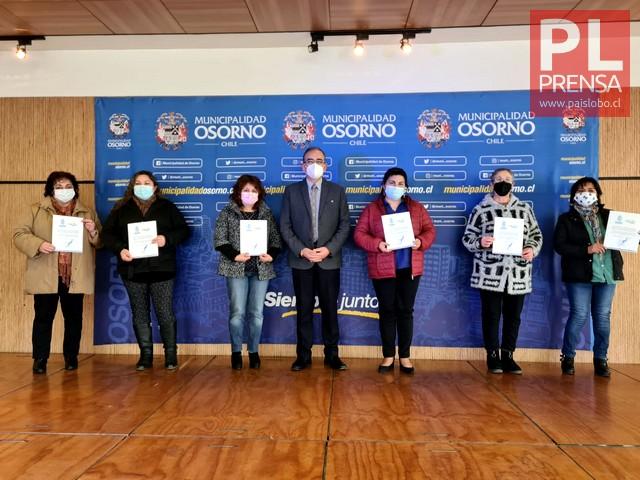 Alcalde Carrillo y Osorn inas beneficiadas