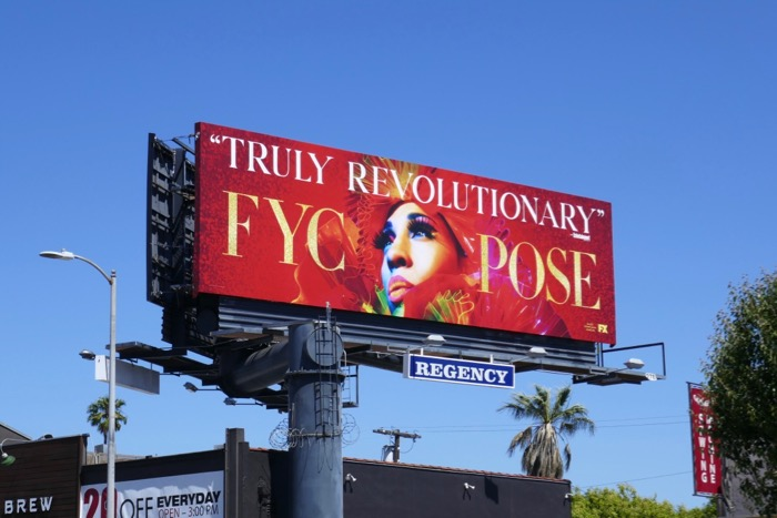 FYC Pose Emmy 2019 billboard