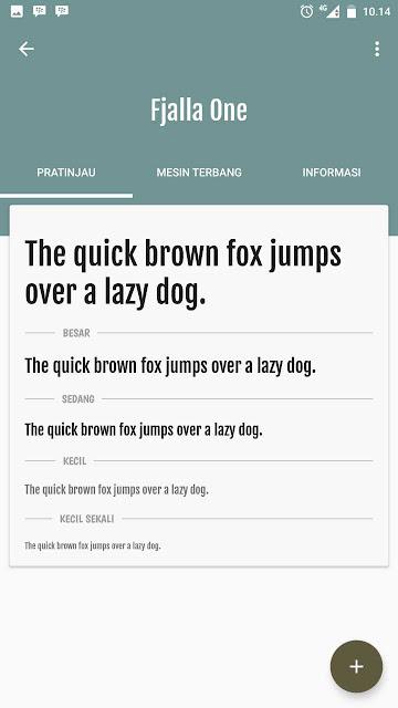 Cara Mengganti Font Pada Xiaomi Mi A1 Di Versi Android Oreo 4