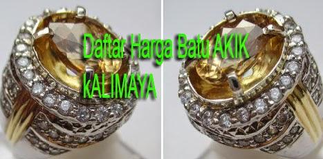 Batu akik kalimaya yang berasal dari provinsi banten merupakan  Daftar Harga Batu Akik Kalimaya Banten