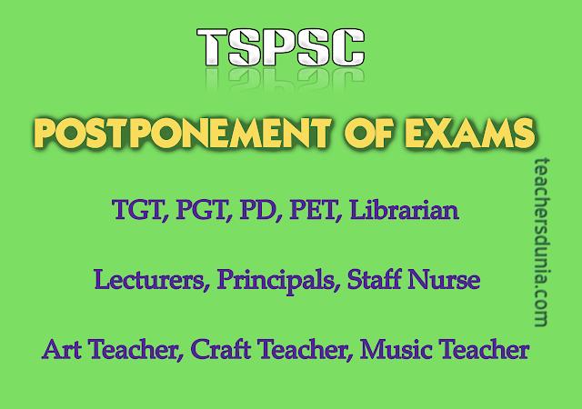 TSPSC-Exams-Postponement